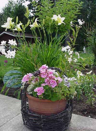 pots de fleurs t 2000 mon coin de jardin. Black Bedroom Furniture Sets. Home Design Ideas